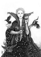 Twisted tales: Evil Queen Ravenna SWATH by danielfoez