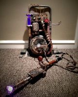 Steampunk Ghostbusters Proton Pack by GrantWilson