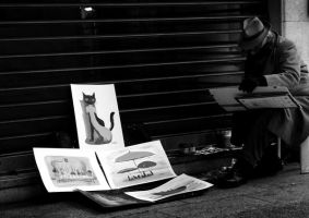 A painter by Dicotomy