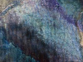 Grunge Texture Blue Ugly Rough Abstract Surface Wa by TextureX-com