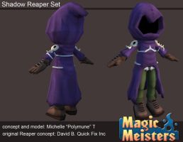 Magic Meisters: Shadow Reaper Outfit Set by PolyMune