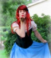 I love getting to be Ariel by AriadneEvans