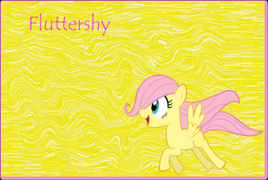 little Fluttershy by Freddylover13