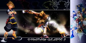 Kingdom Hearts 2 Background by Lightning-Farron
