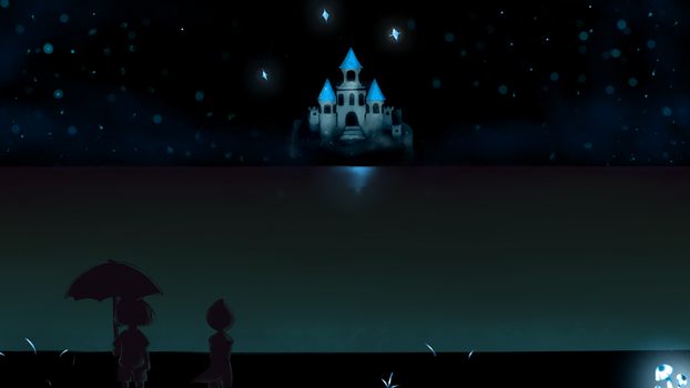 Undertale Background by MaraBear9494
