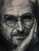STEVE JOBS DRAWING by RasicART