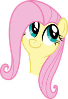 Vector 15} Fluttershy being a weirdocutieshy by RosaIine