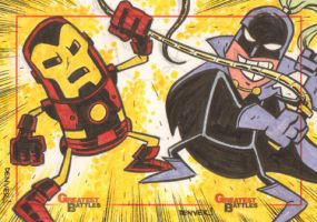 MGB: Iron Man vs. Whiplash by thecheckeredman