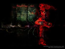 Dissolution of flesh by grimmy3d