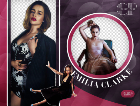 Pack Png 283 // Emilia Clarke by confidentpngs