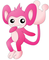 Aipom shiny by NIGHTSandTAILSFAN