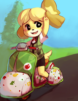 Isabelle by BloodnSpice