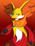 Pokemon X/Y - Delphox by Stareon