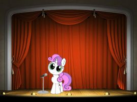 Sweetie belle by greatandpowerfulCeci