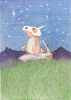 Lonely Cubone by UddinHel2