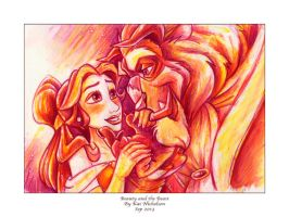 Beauty and the Beast by KatCardy
