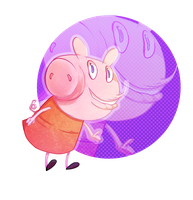 Piggy Piggy!! by Blumestien