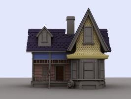 WIP: UP House - a bit more by Sae-Matsumoto