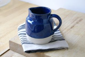 Midnight blue pouring jug by scarlet1800