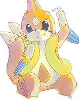 Floatzel by Kaya--chan