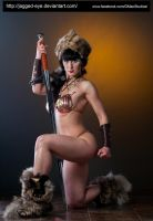 Tatiana Warrior-195 by jagged-eye