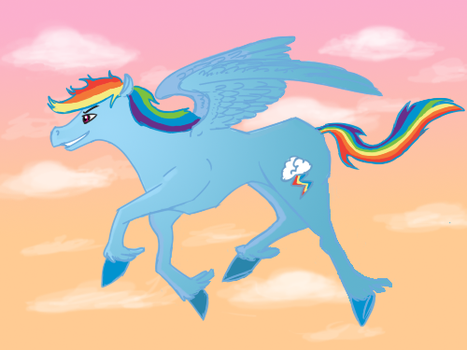 dash's empty sky by Octopus-child