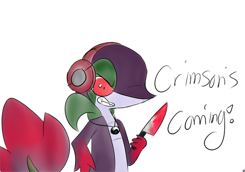 Crimson's Coming! by ArtisticSnivy