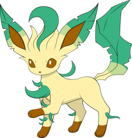 Eeveelution Leafeon by Alpha-mon