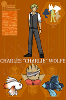PDL NPC: Charlie Wolfe by andalsopineapples