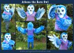 Athena the Barn Owl by JakeJynx