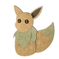 Eevee Plush Doodle by CassidyPeterson