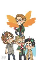 Team Free Will by psycho-bunny-bunny