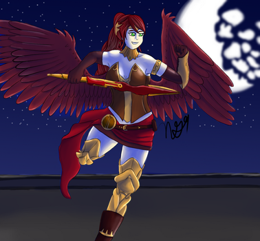 Wing Wednesday 6 Pyrrha Nikos by NewGhost9
