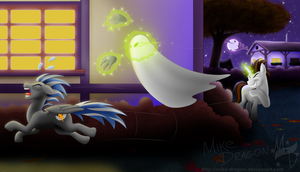 Too Spooky For You by Mike-Dragon
