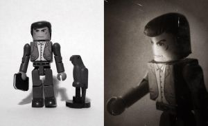 Norman Bates (Psycho) Custom Minimate by luke314pi