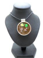 Koi Pond Pendant by SmallCreationsByMel