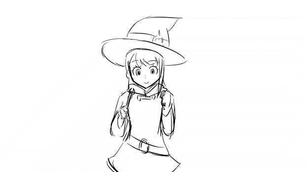 Little Witch Academia Fan Animation - Akko's spell by HaziqI98