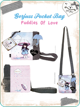 Gorjuss Pocket Bag Puddles by gorjuss