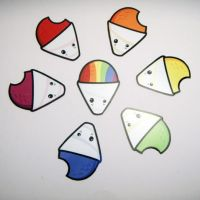 Starprints Snowcones Stickers by starprints