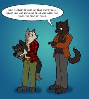 Fursuiting is for humans only by LouveGarou