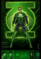 Brian A. Green + Green Lantern by jamietyndall