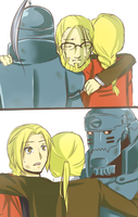 Hug your children, Hohenheim by YerBestFriend99