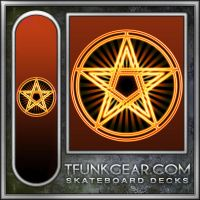 Fire Pentacle SK8 by Wildraw
