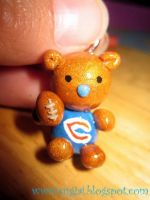 Chicago Bear Charm by SugiAi