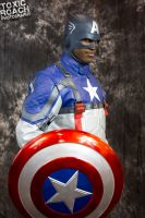 captain america by ToxicRoachPhoto