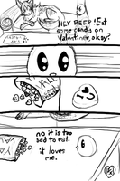 And Peeps. Valentine candy by ADYNAMICA