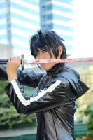 (BRS) Male Black Rock Shooter by LoneWolfCoser