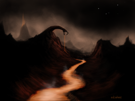 Snake Mountain by ElCachone