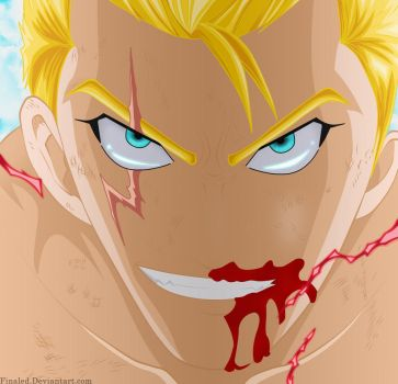 Laxus - Fairy tail 473 by Finaled