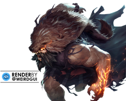 Udyr New Splashart - Render by GuilhermeVLima
